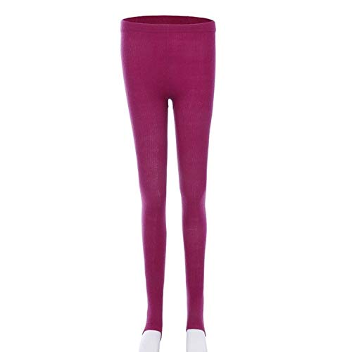 One IZE CUSHY Vertvie 2019 New Yoga Ling with ock for Women Winter Warm Port Pant High Wait Bottom LIM Tight portwear red
