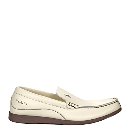 Vlado Calzature Uomo In Pelle Elite Low Top Slip On Low Top Slip On Mocassino Beige
