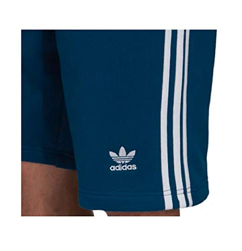 Adidas 3 Short Bleu stripe Homme rrHqwZv