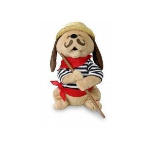 """12"" Tall Gondolomio Romantic Italian Animated Plush Puppy Dog Toy Dancing and Singing Song ""Ole Sole Mio"" - 31GzCAJC8nL - ""12"" Tall Gondolomio Romantic Italian Animated Plush Puppy Dog Toy Dancing and Singing Song ""Ole Sole Mio"""
