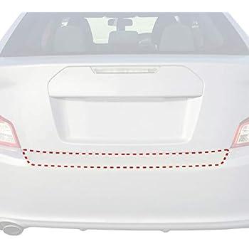 FILM 2011-2013 tC Rear Bumper Applique Protector Genuine Scion PT747-21110