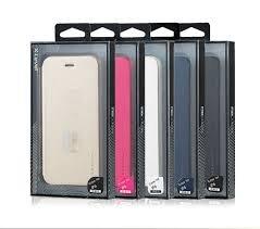 iPhone 6ECHT Leder Flip Phone case-x-level FIB Farbe