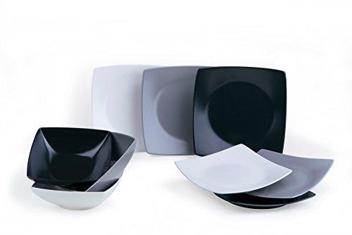 White Ceramic Excelsa Eclipse Dinner Service