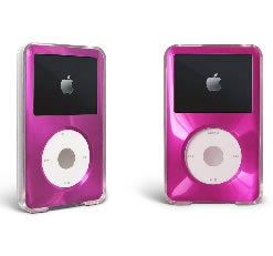 MIP Apple iPod Classic Hard Case with Aluminum Plating 80gb 120gb 160gb-Hot Pink