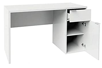 MUEBLES MATO - Mesa ordenador color blanco d320: Amazon.es ...