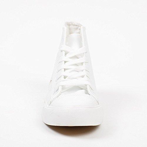 Shoes avec Empiècements Ideal Karmen Montantes Baskets Étoiles gqaxtdw