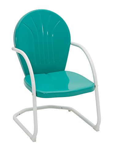 - Jack Post BH-20EM Retro Style Chair, Turquoise