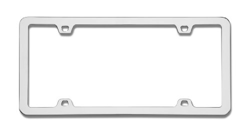 Chrome License Plate - 5
