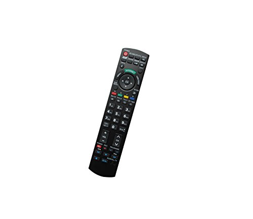 Universal Replacement Remote Controller Fit For Panasonic PT-44LCX65K PT-61LCX35 PT-52LCX15 DLP Projector Viera Plasma LCD LED HDTV TV ()