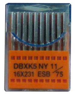 ESB 75/11 Chrome Embroidery Needles - 100 Pack by StabilStitch