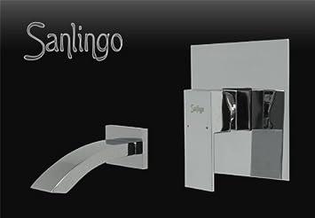 Unterputz Set für die Badewanne Wannenset mit Wanneneinlauf und ... | {Badewannen armaturen unterputz 72}