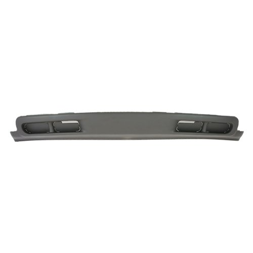 CarPartsDepot, Front Lower Bumper Air Deflector Valance Cover Without Fog Light Holes, 365-15104 GM1092168 15199825