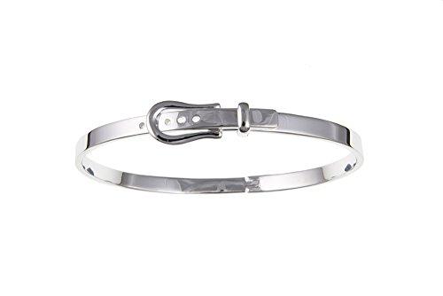 Argent Sterling 4 mm pour Bracelet Boucle