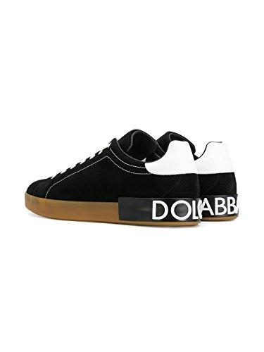 Herren Sneakers Schwarz E CS1561AH34189690 Leder GABBANA DOLCE UEqRY