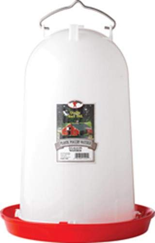LITTLE GIANT 3 Gallon Poultry Waterer 7906, 3 gal, White