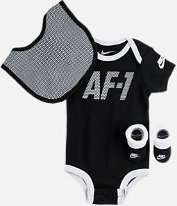 Nike Air Force 1 Infant Layette 3 Pcs Sets ()