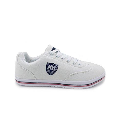Zapato XTI Hombre combinado blanco