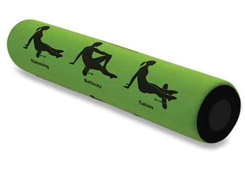 (Smart Recovery - Self-Guided Recovery Roller - 9 Printed Exercises, 2 Feet Long, Firm, Perfect For Increased Flexibility)