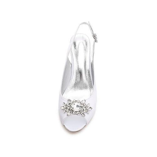 El mejor regalo para mujer y madre Mujer Zapatos Satén Primavera Verano  Confort Pump Básico Zapatos 0c90200a2ab