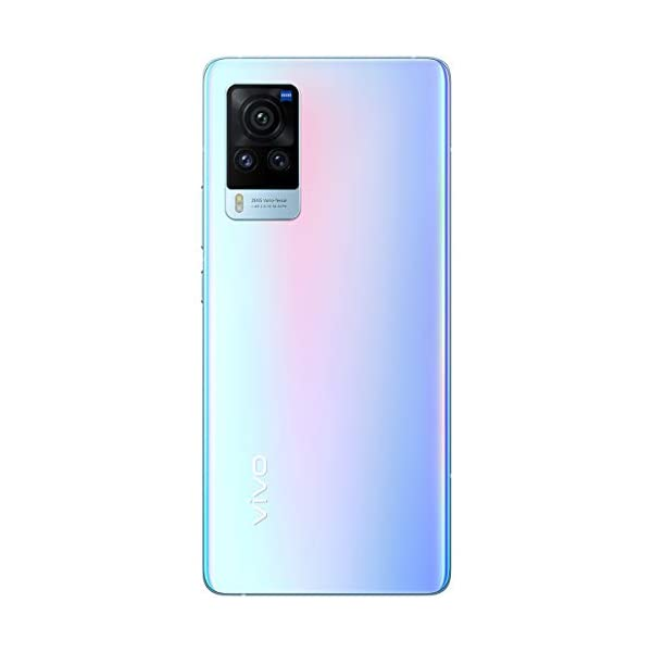 "Vivo X60 Pro (Shimmer Blue, 12GB RAM, 256GB Storage) with No-Cost EMI/Additional Exchange Offers 2021 July 48MP+13MP+13MP Rear Camera | 32MP Selfie Camera 16.65cm (6.56"") AMOLED Display with 120Hz Refresh Rate and 2376 x 1080 pixels resolution. Memory & SIM: 12GB RAM | 256GB internal memory | Dual SIM (nano+nano) dual-standby (5G)."