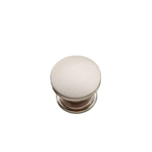 (10-Pack) American Diner 1-3/8 in. Stainless Steel Cabinet Knob