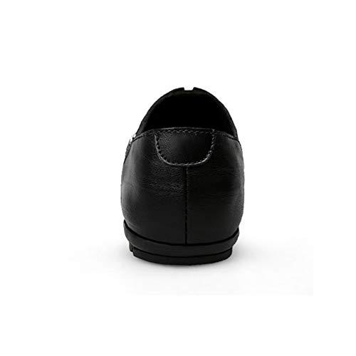 Blando Para Y Slip Fondo Hombres Guisantes ons Un otoño Primavera mocasines zapatos Comodidad Zapatos Cuero Hombre zapatos Conducción De Yaxuan wq6xTz8