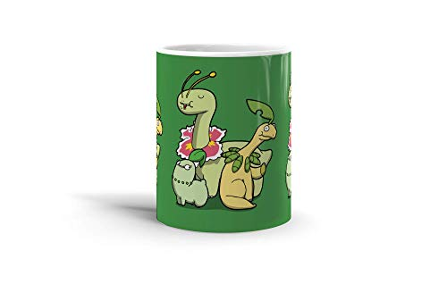Ceramic Coffee Mug Gamer Video Game Cup Leafy Dinosaurs Gaming Computer Drinkware Super White Mugs Family Gift Cups 11oz 325ml