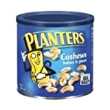 Kraft Planters Half and Piece of Cashew, 46 Ounce -- 6 per case.