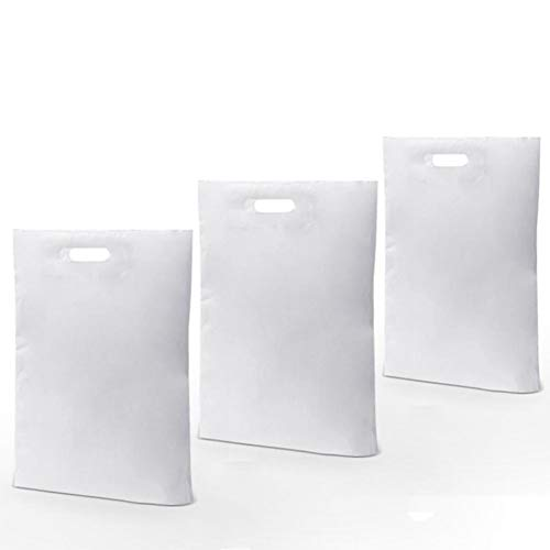- SES.CO 9x12 Inches Premium Glossy White Plastic Merchandise Bags Custom Shopping Bags Wedding Party Favors Bags for Wrapping Underwear Small Clothing Gift Toys Books Cosmetics