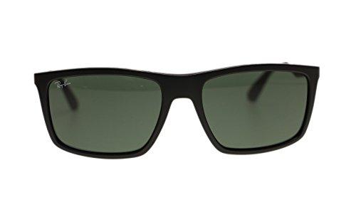 Ray Ban Mens Sunglasses RB4228 601S71 Matte Black Green Lens 58mm - 601s71 Matte