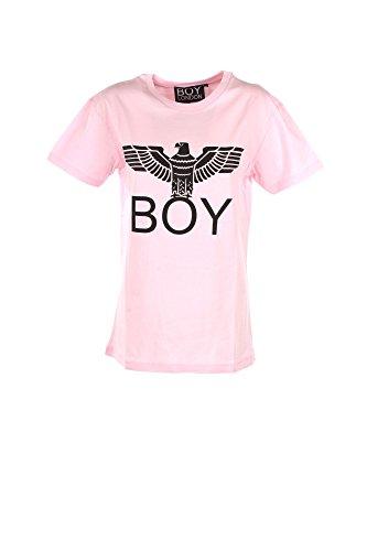 T-shirt Donna Boy London M Rosa Bl717 Autunno Inverno 2017/18