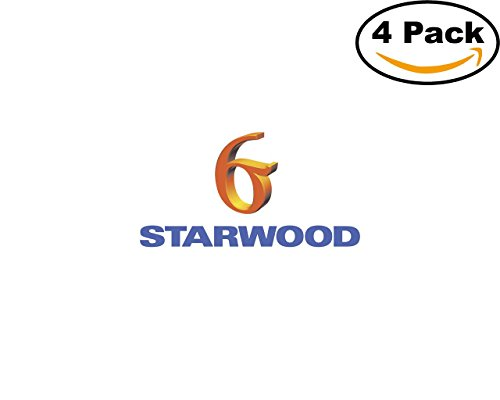 Starwood Office (Starwood 4 Stickers 4X4 inches Car Bumper Window Sticker Decal)
