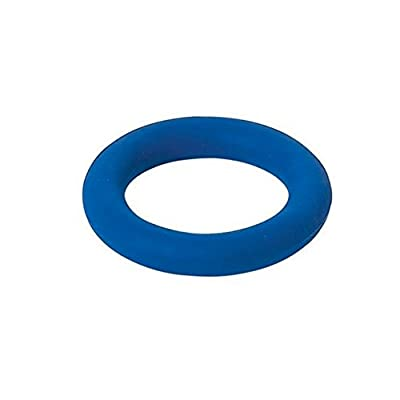 Anneau en caoutchouc souple 15 cm - Bleu
