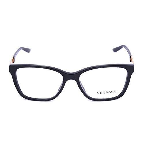 Versace Women's VE3192BA Eyeglasses Black - Glasses Versache