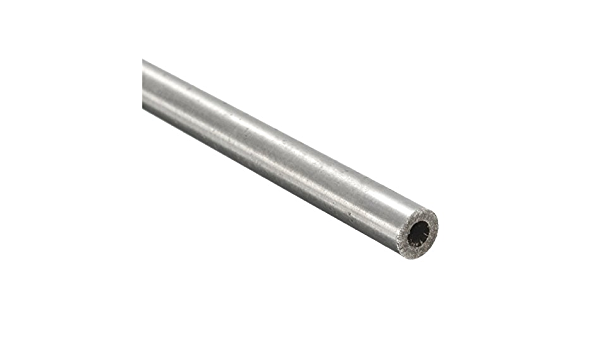 length 250mm metal t~DO/_bl 304 Stainless steel capillary tube OD 4mm x 2mm ID