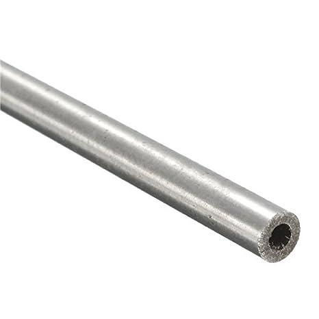 Chenxi Shop - Juego de 4 mm x 2 mm x 250 mm tubo 304 Acero ...