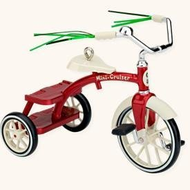 Hallmark Keepsake Little Red Tricycle Christmas Ornament