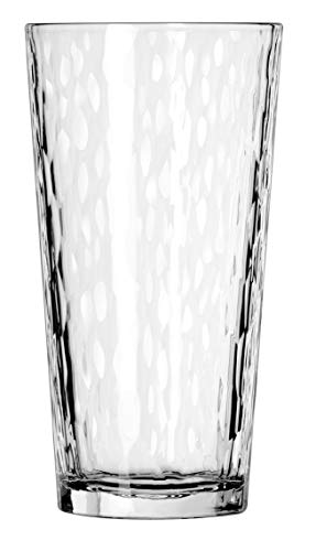 (Libbey DuraTuff Hammered Casual Cooler Glass, 20 Ounce - 12 per case)