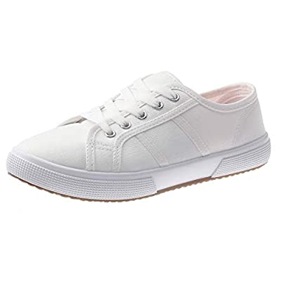 SelfieGo Women Canvas Sneakers Casual Shoes Lace up Comfortable Footwear for Girls Walking   Fashion Sneakers