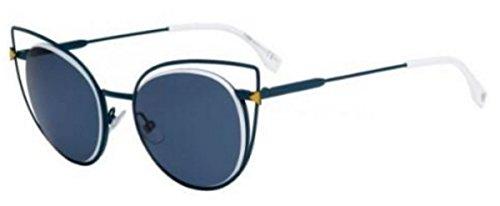 Fendi FF 0176/S TLP/72 Blue / Grey Sunglasses