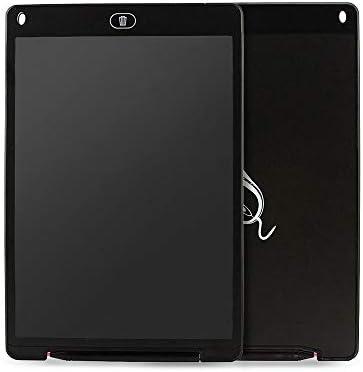 LKJASDHL 12インチのタブレットの子供の絵画LCDのタブレットのオフィスの伝言板のホワイトボードのペン (色 : 黒)