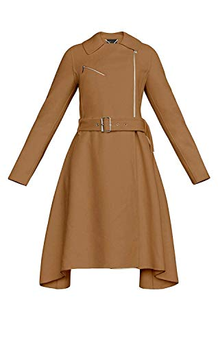 BCBGMaxazria Camel Ryan Coat (L)