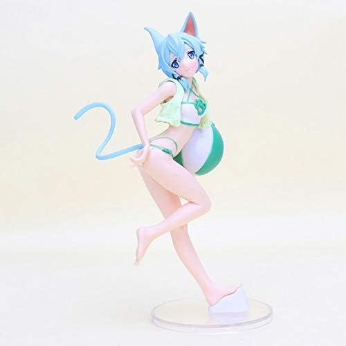 New Anime Sword Art Online Asada Shino Swimwear PVC Figure