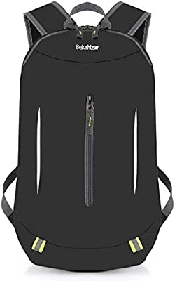e372a987c296 Bekahizar 30L Lightweight Backpack Foldable Hiking Daypack Packable and  Water Resistant for Outdoor Sports Day Hikes