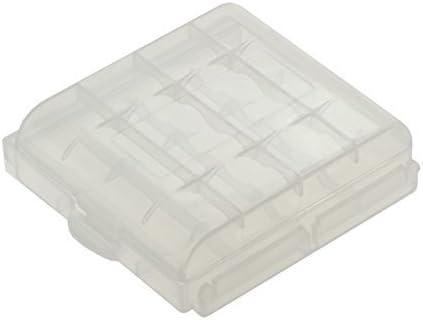 Caja para almacenaje 4 AAA o de 4 AA baterías/Pilas: Amazon.es ...