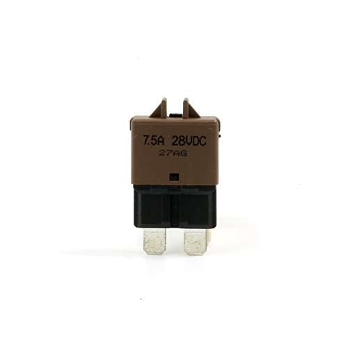 Resettable 7.5AMP Automotive Fuse ATO ATC ATS APR Breaker Type III Thermal Circuit Blade-Style Circuit Breakers by Lumision (Image #1)