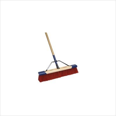 Cequent Consumer Products 559024A Heavy Duty Debris Push Broom, 24""