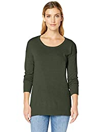 Women's Lightweight Scoopneck Tunic Sweater