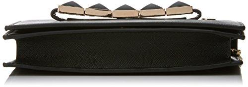 Lola Casademunt Ashlyn - Borse Baguette Donna, Negro (Black), 5.5x11.5x19.5 cm (W x H L)