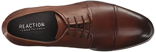 Kenneth Cole Reazione Mens Pennellata Oxford Cognac
